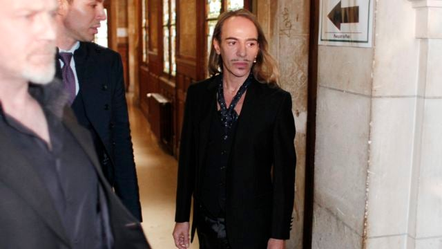 "Galliano On Trial Today, Says ""Hitler"" Video Shows ""Someone Who Needs Help"""