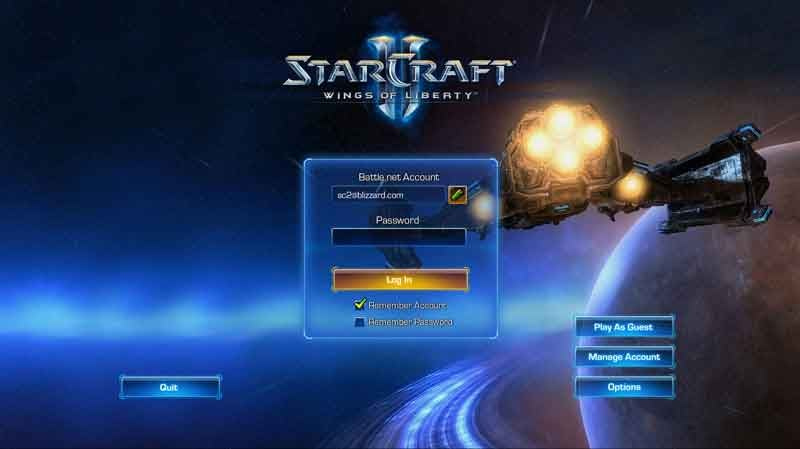 StarCraft II Can Be Played Offline