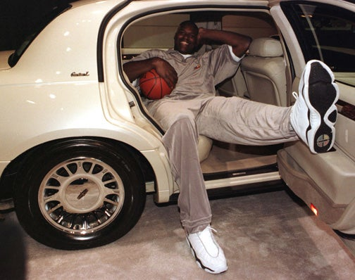 Twelve Ridiculous Athlete Car Poses