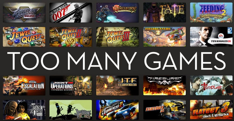 We're Buying More PC Games Than We Can Play