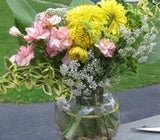 Use Local Foliage to Dress Up Cheap Bouquets