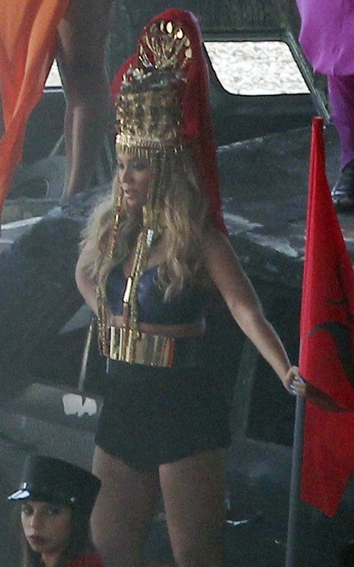 "Beyonce goes ""Game of Thrones meets Mad Max"" in latest video shoot"