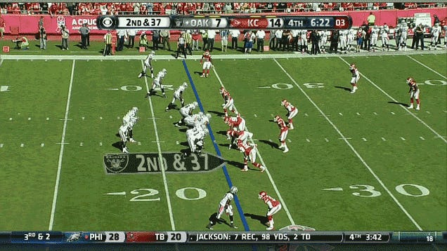 Good God, The Raiders Just Had A Third-And-48
