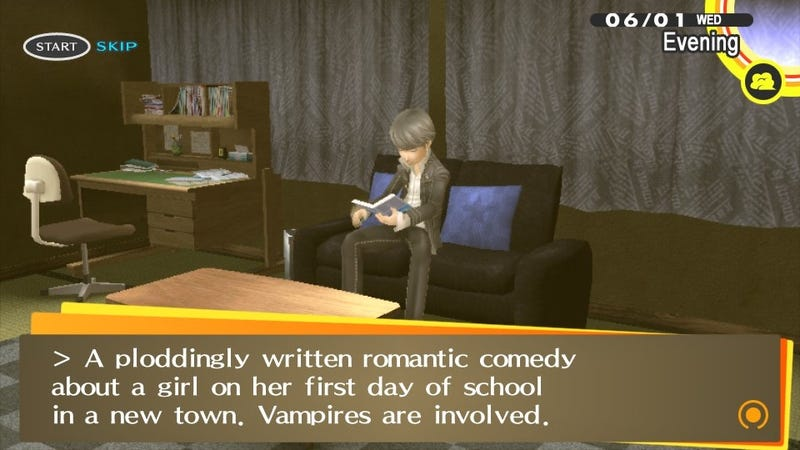 Persona 4 Golden Takes On Twilight