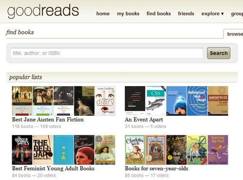Best Book Recommendation Service: GoodReads