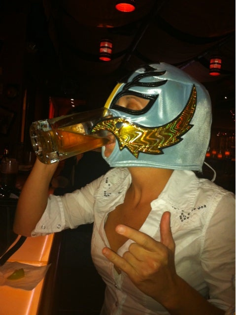 If Sideline Princess Is Already Taken, Jenn Brown's Friend Has A Promising Career As An Alcoholic Luchadora