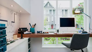 The Custom-Built, Model Home Workspace
