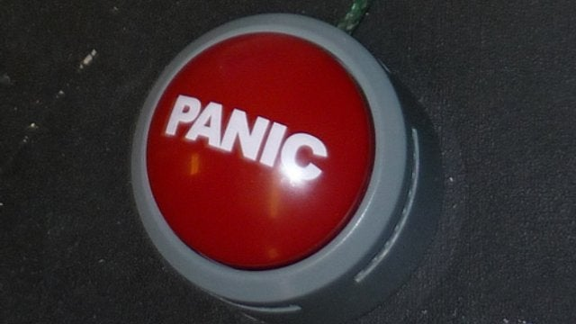 Repurpose a Joke Panic Button to Send Keystroke Commands