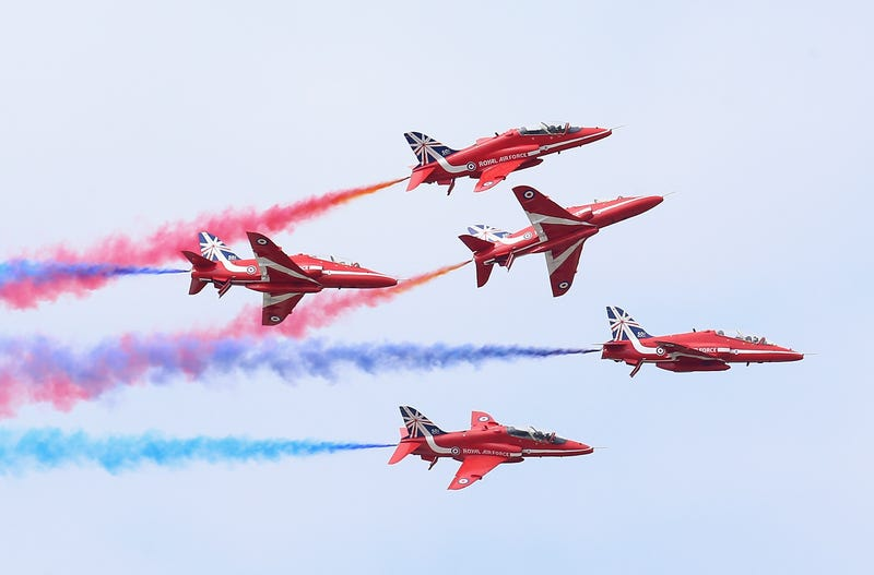 Check Out These Photos From The Biggest Air Show Of Your Damn Life