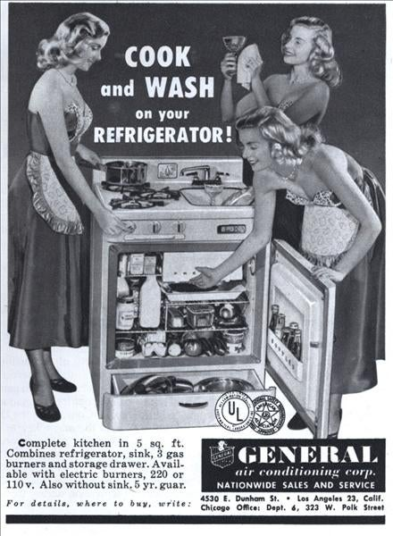 Why Aren't There More Refrigerator-Stove-And-Sink-In-One Units Around ?