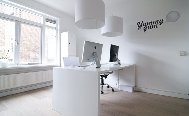 White on White: Inside the Offices of Yummygum