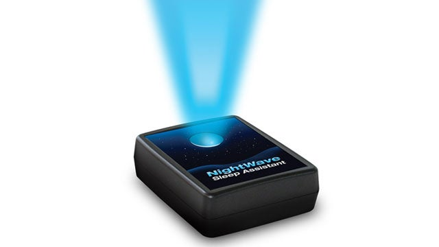 The NightWave Makes You Fall Asleep Faster with a Soothing Blue Light