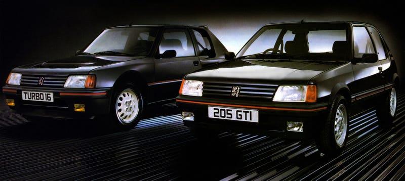 The Peugeot 205 GTI: Jalopnik Fantasy Garage