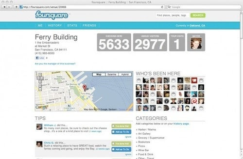 Foursquare Privacy Hole Leaks Nearly a Million Check-Ins