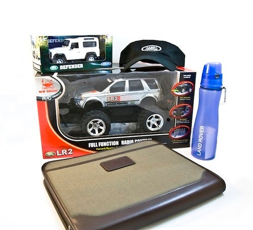 Join The Jalopnik Facebook Page, Win A Bag Of Land Rover Swag