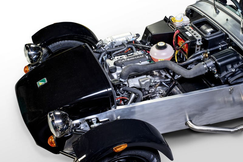 New affordable Caterham Seven will get half an engine