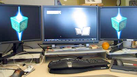 how to get screensaver on dual monitors xp