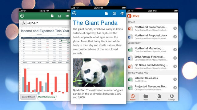 Microsoft Unveils Microsoft Office Mobile for iPhone