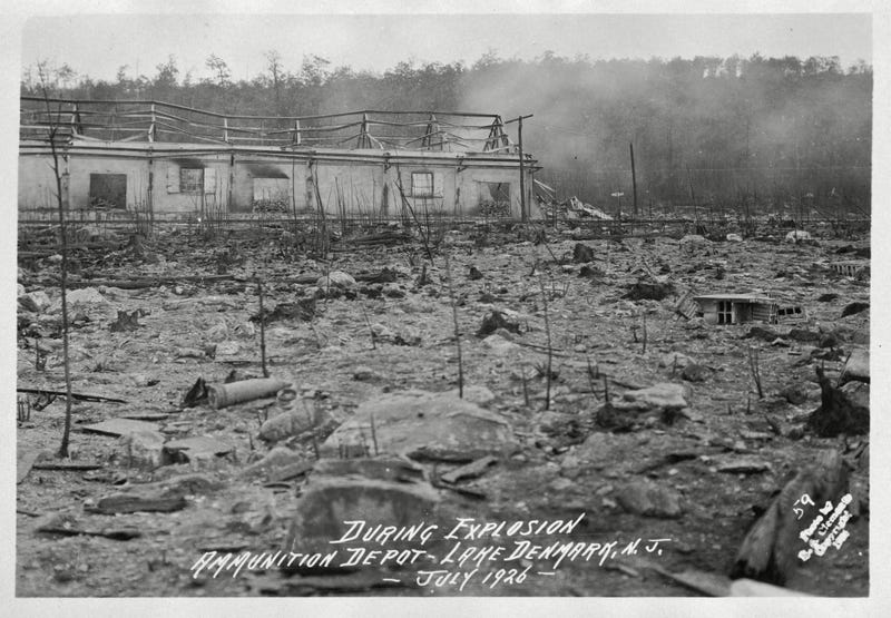 July 10, 1926: The Day Nature Blew up a Town in New Jersey