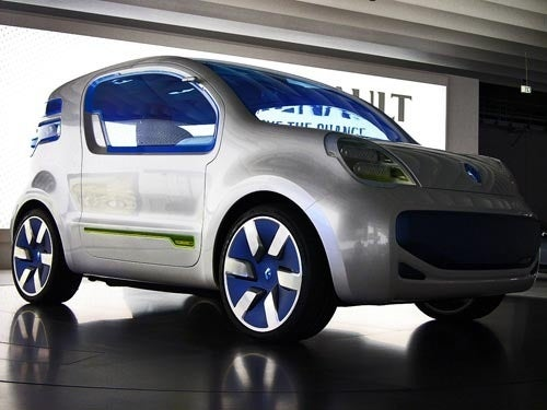 Renault Kagoo ZE: You Guessed It, Another Electric