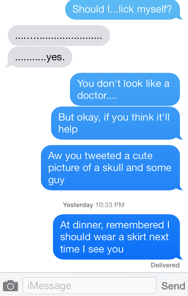 What Was the Text That Murdered Your Romance?