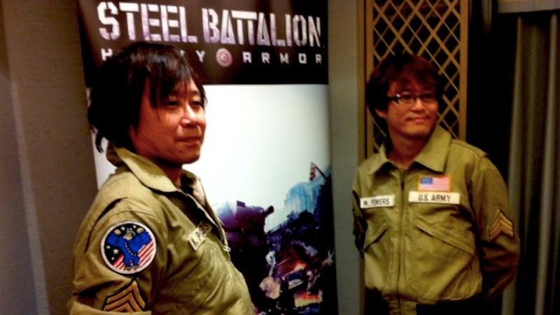 It's Steel Battalion, Minus What Made It Bananas