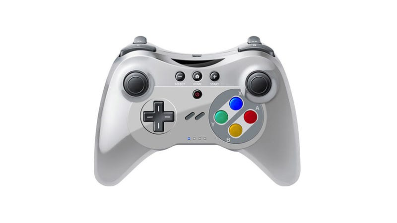 The PhotoShop Horror of a Wii U Controller That Looks Like a SNES Pad