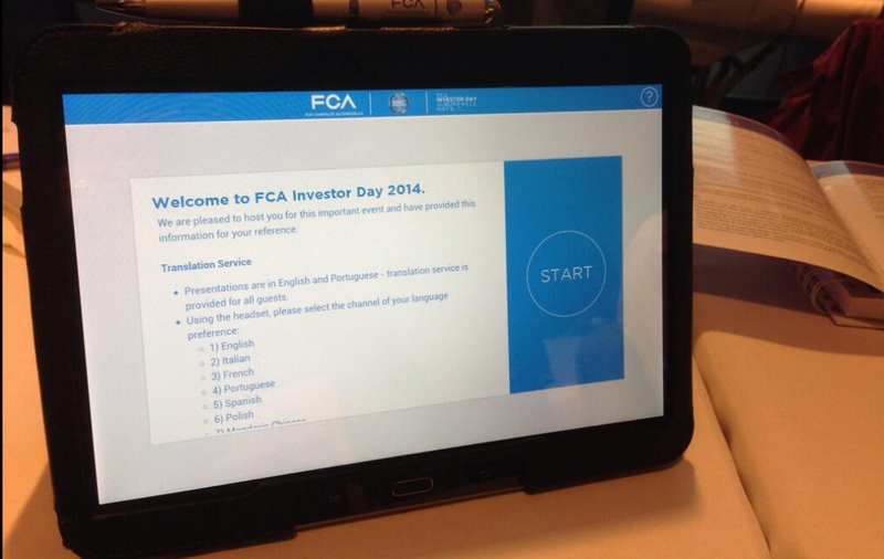 Fiat Chrysler Offered Every Journalist A Free Tablet Yesterday