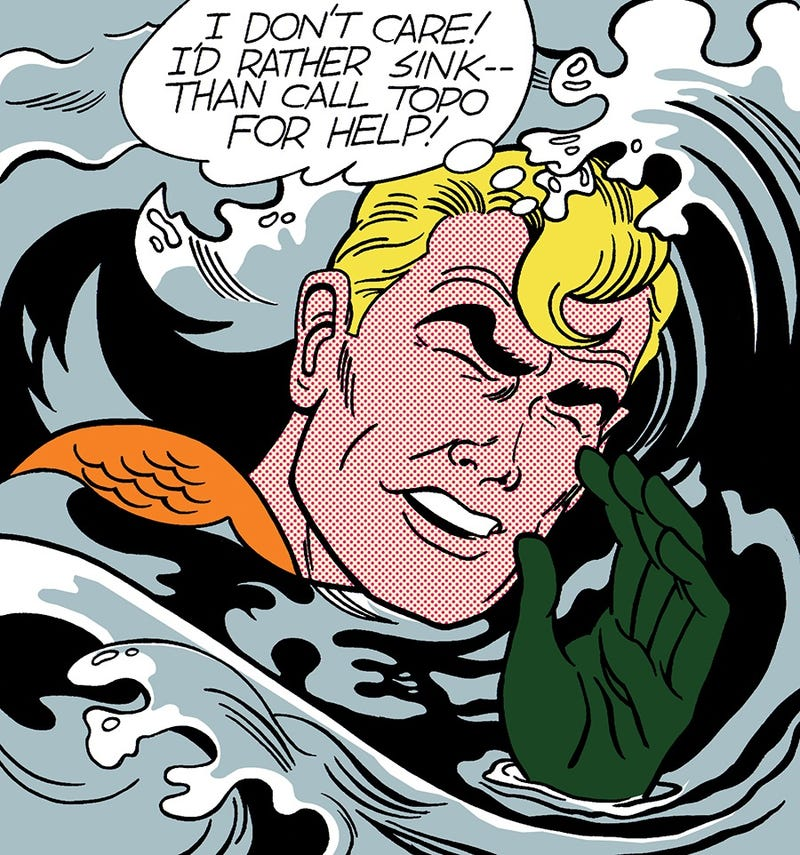 Lichtenstein's Aquaman, Norman Rockwell's Optimus Prime, and Other Fine Art Superheroes