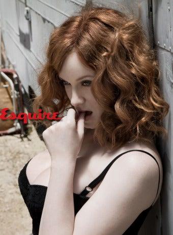 Mad Men's Christina Hendricks Loves Curves, Hates Boning