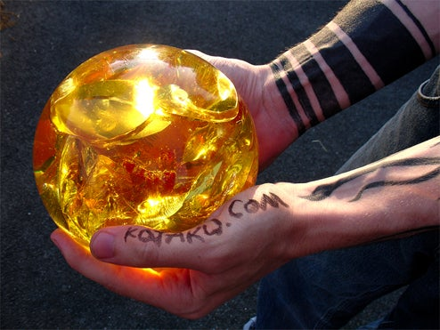What Are Your Dragon Balls Made Of?