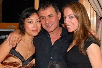 Nouriel Roubini Copters His Way Back Home