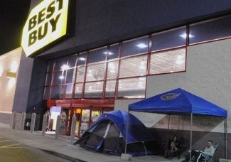 It's Never Too Early To Camp Out For Black Friday...Right?