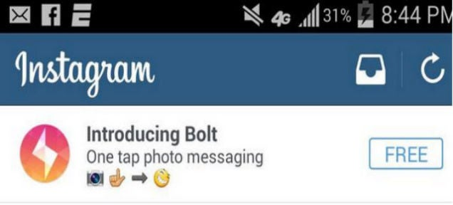 Instagram's Snapchat Rival, Bolt, Just Launched In 3 Non-US Countries
