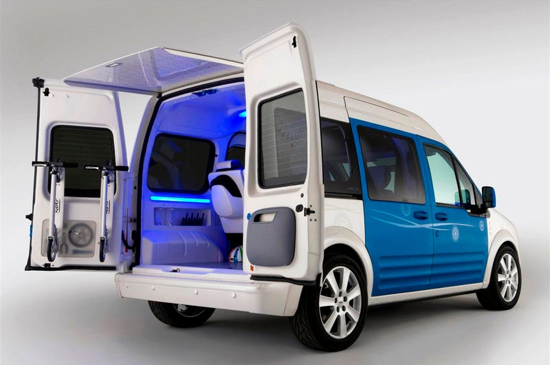 Ford Transit Connect Family One Concept: A Mini-Minivan For The Kids