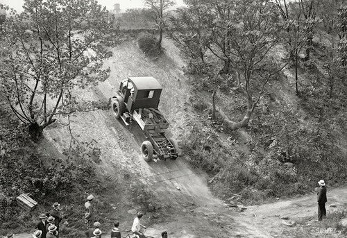 When four wheel drive was a futuristic technology
