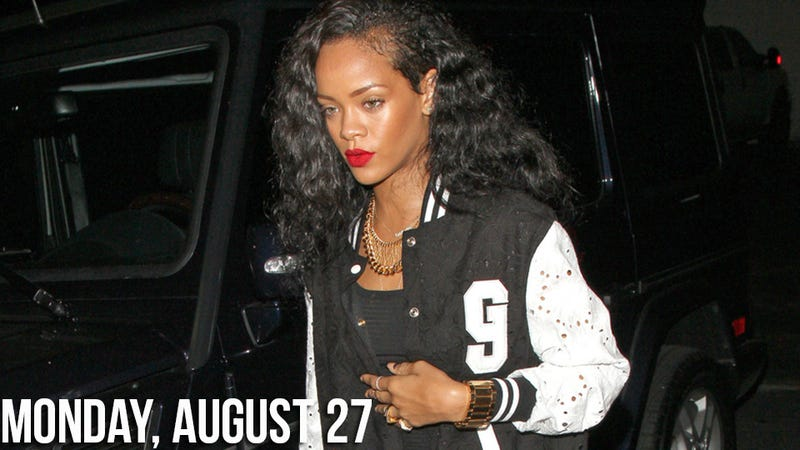 Rihanna Wins Race During Rob Kardashian Go-Kart Date