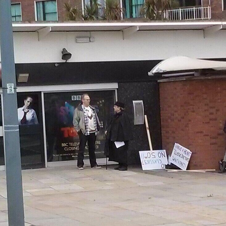 Ex-Doctor Who stars protest due to lack of Classic Doctors in the 50th