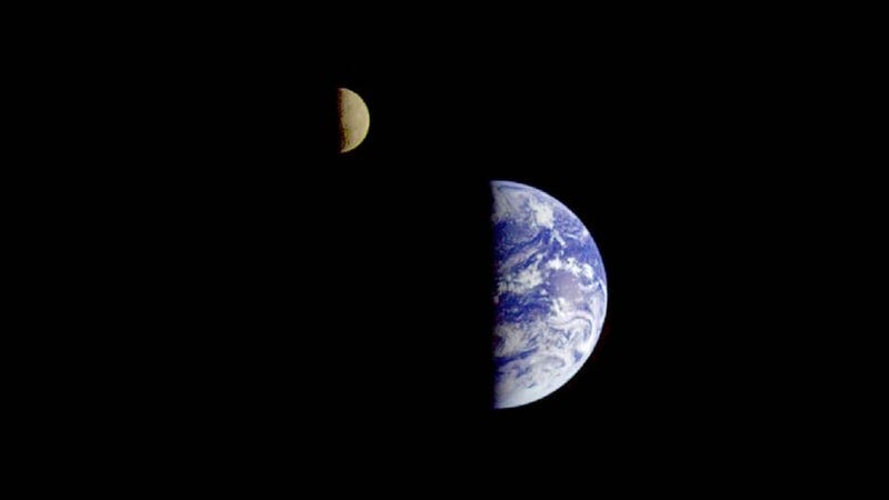The Beautiful View of Earth and the Moon From Seven Million Miles Away