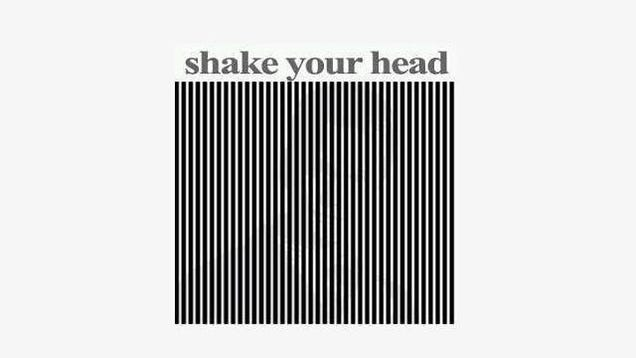 Shake Your Head Optical Illusion Will Require Aspirin Afterwards
