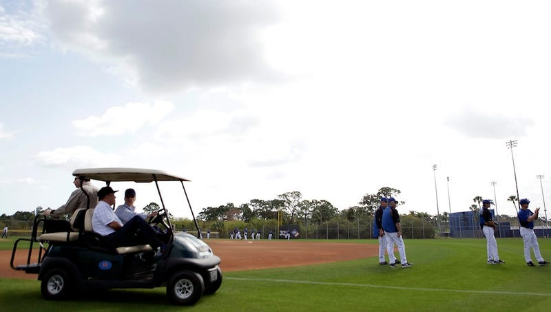 The Public-Funding-For-Stadiums Hustle Comes To Spring Training