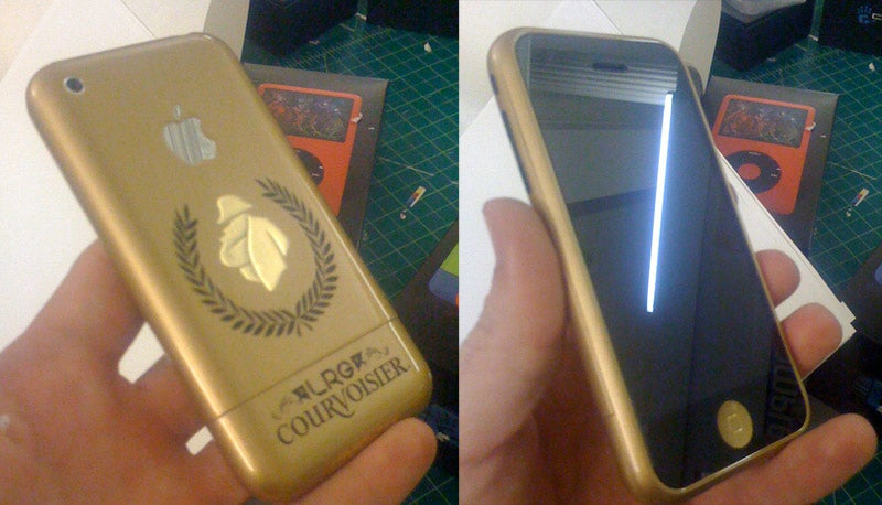 Courvoisier Branded iPhone and iPod Make Us Talk Like the Ladies Man