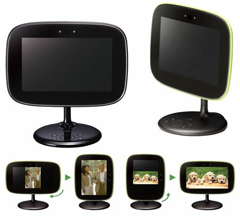 Sanyo ALBO Digital Picture Frame is Handsome, Like George Jetson