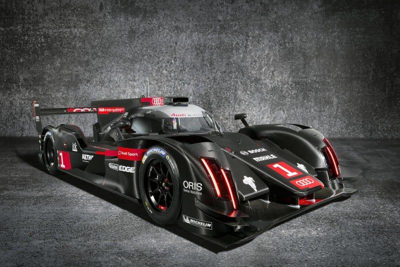 Darth Vader's new ride (2014 Audi R18 e-tron quattro)