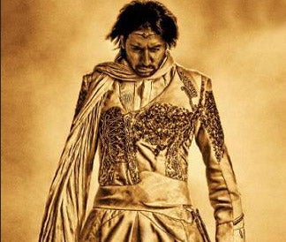 Only One Man Can Pull Off A Gold Superhero Costume, And Save The Universe