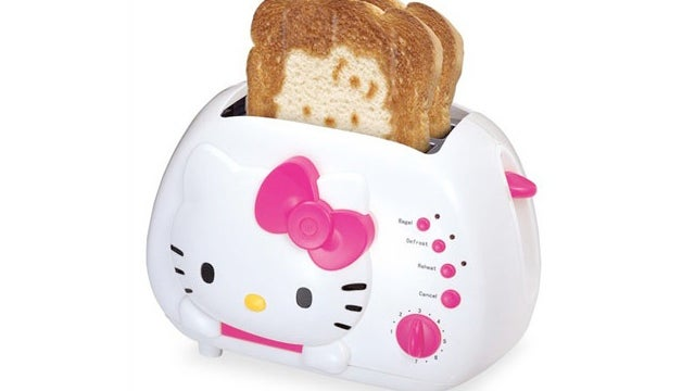 My Old Toaster Exploded and Now I Want This Hello Kitty Toaster