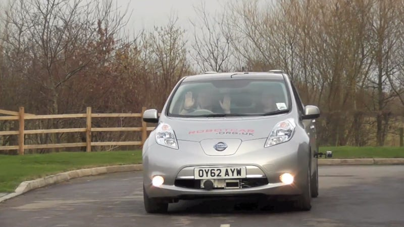 British Government Clears Testing For Driverless Nissans