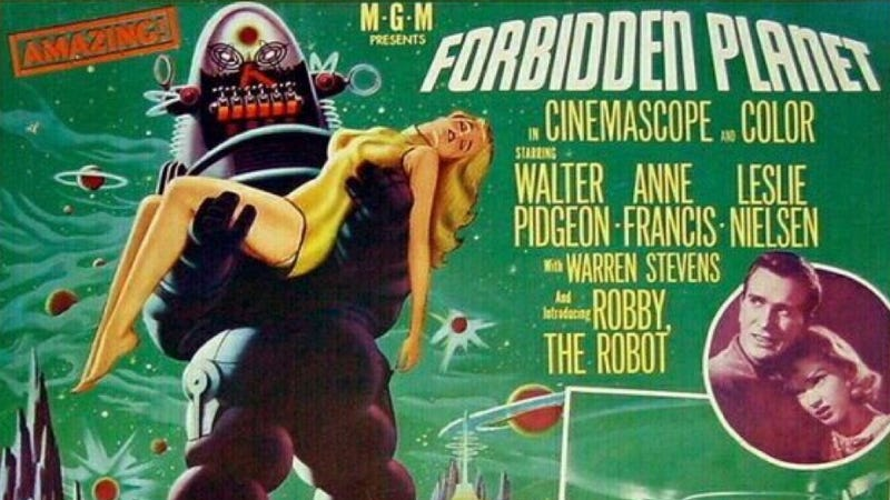 "The ""sensational"" movie that ended the career of Forbidden Planet's director"