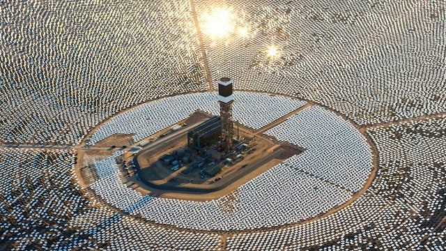 The world's largest solar plant is killing birds melting them with heat