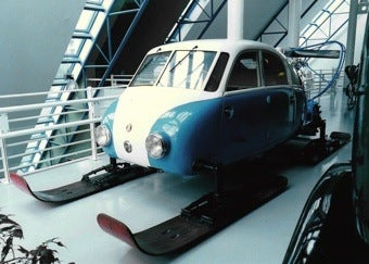 Tatra V855: Ass-Engined Nazi-Occupied Snowmobile